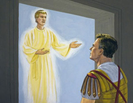 Image result for about cornelius in the bible